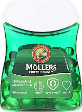 "Parfumuri și produse cosmetice Supliment alimentar ""Omega-3"" - Orkla Moller's Forte Omega-3"
