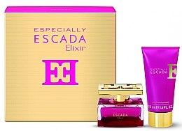 Parfumuri și produse cosmetice Escada Especially Elixir - Set ( edp 30ml + b/l 50ml)