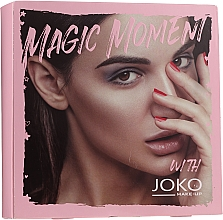 Parfumuri și produse cosmetice Set - Joko (mascara/9ml + eye/shadow/7g + n/polish/10ml)