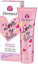 Parfumuri și produse cosmetice Emulsie pentru față - Dermacol Love My Face Pear & Watermelon Scent Face Cream