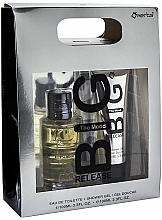 Parfumuri și produse cosmetice Omerta Big Release The Mood - Set (edt/100ml + sh/gel/100ml)