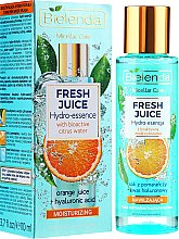 """Parfumuri și produse cosmetice Esență hidratantă pentru față """"Portocală"""" - Bielenda Fresh Juice Hydro Essential Orange"""