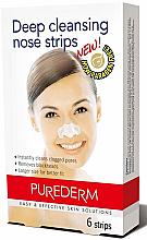 Parfumuri și produse cosmetice Benzi de nas - Purederm Deep Cleansing Nose Pore Strips