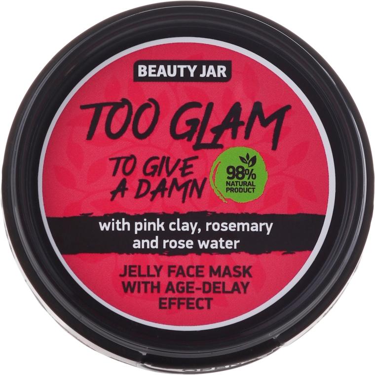 Mască-jeleu cu efect de lifting - Beauty Jar Too Glam To Give A Damn Face Mask
