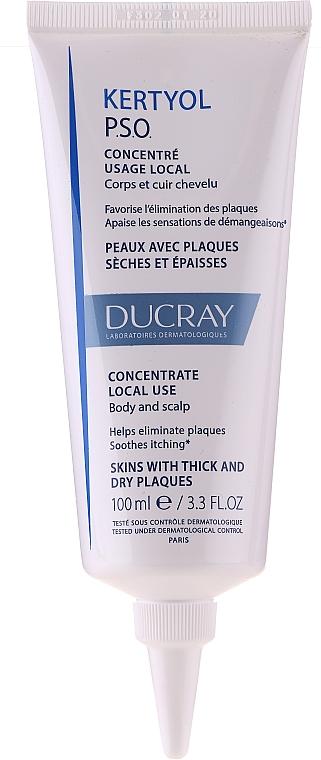 Set - Ducray Kertyol P.S.O. (shm/100ml + concentrate/125ml) — Imagine N2