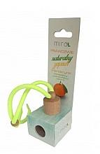 Parfumuri și produse cosmetice Aromatizator auto, aromă de mandarină - Mira