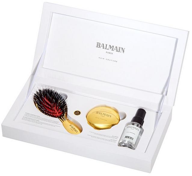 Set pentru îngrijirea părului - Balmain Paris Hair Couture (silk parfume/50ml + mirror + h/brush) — Imagine N2