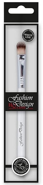 Pensulă pentru fard de ochi, 37221 - Top Choice Fashion Design White Line — Imagine N1