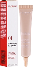 Parfumuri și produse cosmetice Concealer - Clarins Everlasting Long-Wearing And Hydration Concealer
