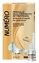 Parfumuri și produse cosmetice Loțiune hrănitoare pentru păr, cu unt de shea - Brelil Numero Nourishing Vials For Hair With Shea Butter
