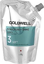 Parfumuri și produse cosmetice Cremă emolientă pentru păr deteriorat - Goldwell Structure + Shine Agent 1 Soft 3