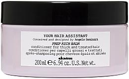 Parfumuri și produse cosmetice Balsam nutritiv pentru păr - Davines Your Hair Assistant Prep Rich Balm