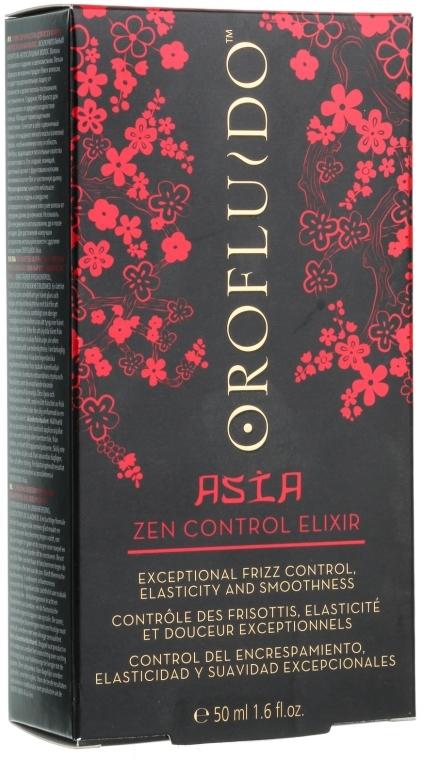 Elixir pentru păr - Orofluido Asia Zen Control Elixir — Imagine N3