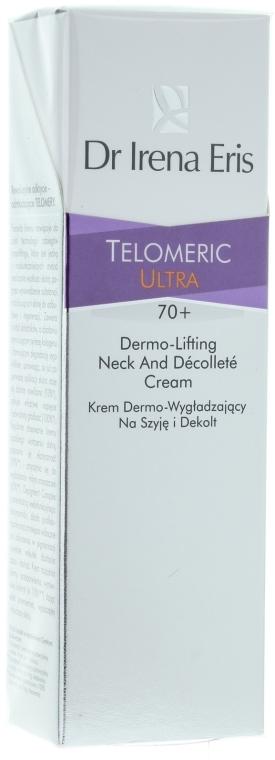 Cremă pentru gât și zona decolteului - Dr Irena Eris Telomeric Ultra Dermo-Lifting Neck And Decollette Cream — Imagine N1
