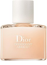 Parfumuri și produse cosmetice Soluție pentru îndepărtarea lacului de unghii - Dior Dissolvant Abricot Gentle Polish Remover
