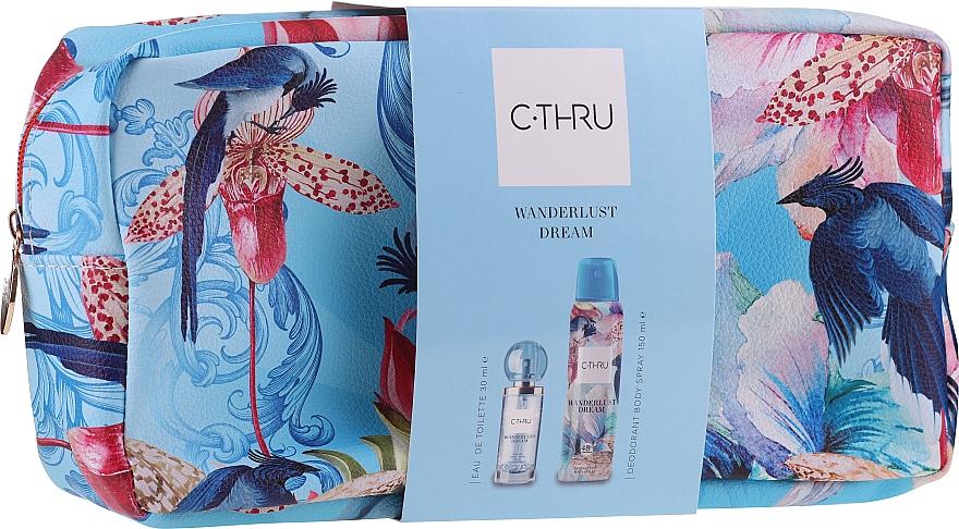 C-Thru Wanderlust Dream - Set (edt/30ml + deo/150ml + bag/1pcs) — Imagine N1