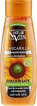 Parfumuri și produse cosmetice Mască pentru menținerea culorii părului vopsit - Natur Vital Coloursafe Henna Hair Mask Blonde Hair