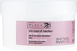Parfumuri și produse cosmetice Cremă-mască împotriva mătreții - Black Professional Line Anti-Dandruff Mask