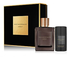 Parfumuri și produse cosmetice Cristiano Ronaldo Legacy - Set (edt/50ml + deo/75ml)