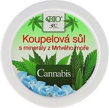 Parfumuri și produse cosmetice Sare de baie - Bione Cosmetics Cannabis Bath Salt with Dead Sea Minerals