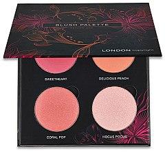 Parfumuri și produse cosmetice Paletă fard de obraz - London Copyright Magnetic Face Powder Blush Palette