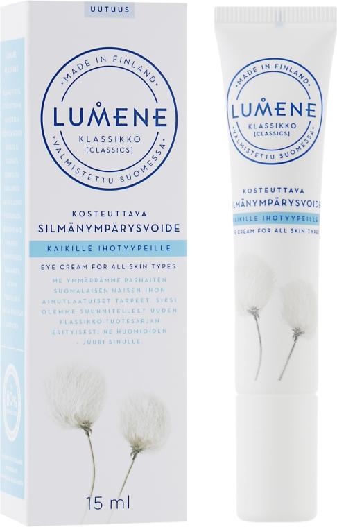 Cremă hidratantă pentru pielea din jurul ochilor - Lumene Klassikko Moisturizing Eye Cream