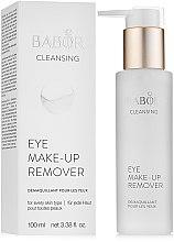 Parfumuri și produse cosmetice Loțiune demachiantă pentru pleoape - Babor Cleansing Eye Make up Remover