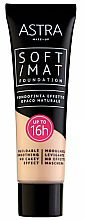 Parfumuri și produse cosmetice Fond de ten - Astra Soft Mat Foundation