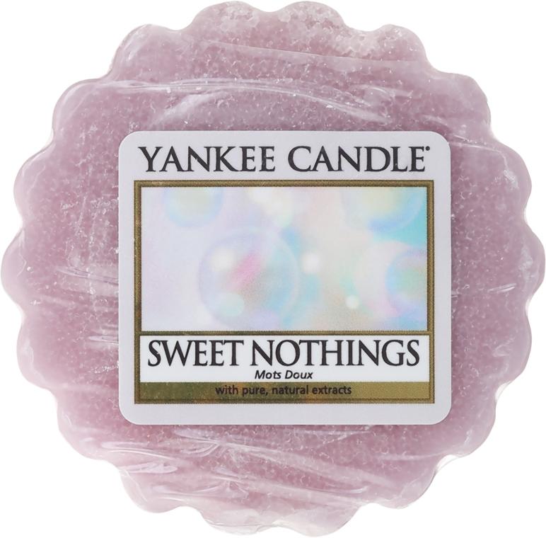 Ceară aromată - Yankee Candle Sweet Nothings Tarts Wax Melts — Imagine N1