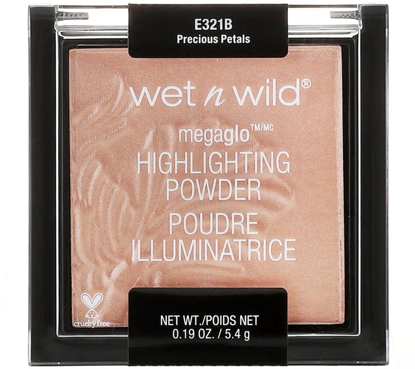Set - Wet N Wild Midnight Goddess Collection (eyesh/palette/8.5g + powder/9g + lipstick/3.3g + bag) — Imagine N3