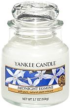 """Parfumuri și produse cosmetice Lumânare parfumată """"Iasomie de noapte """" - Yankee Candle Midnight Jasmine"""