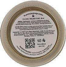 Gel de unghii, transparent - F.O.X Gele Builder UV Clear — Imagine N3