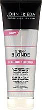 "Parfumuri și produse cosmetice Balsam pentru părul blond ""Strălucire"" - John Frieda Sheer Blonde Brilliantly Brighter Conditioner"