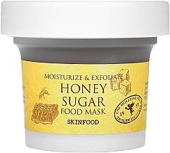 Parfumuri și produse cosmetice Mască cu miere și zahăr pentru față - Skinfood Honey Sugar Food Mask