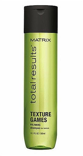Șampon texturizant - Matrix Total Results Texture Games Shampoo