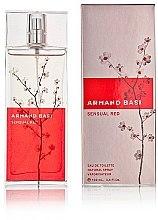 Parfumuri și produse cosmetice Armand Basi Sensual Red - Apă de toaletă