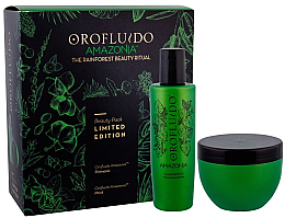 Parfumuri și produse cosmetice Set - Orofluido Amazonia Set (shm/200ml + mask/250ml)
