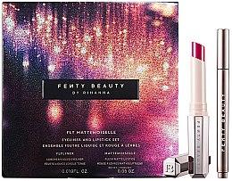 Parfumuri și produse cosmetice Set pensule pentru machiaj - Fenty Beauty Fly Mattemoiselle (eye/liner/0.55ml + lipstick/1.7g)