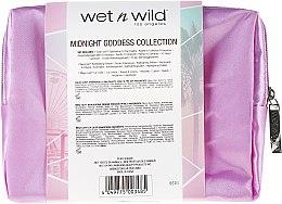 Set - Wet N Wild Midnight Goddess Collection (eyesh/palette/8.5g + powder/9g + lipstick/3.3g + bag) — Imagine N2