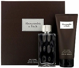 Parfumuri și produse cosmetice Abercrombie & Fitch First Instinct - Set (edt 100ml + sh/gel 200ml)