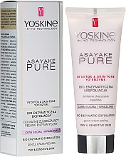 Parfumuri și produse cosmetice Peeling enzimatic pentru piele uscată și sensibilă - Yoskine Asayake Pure Bio Enzym Peeling
