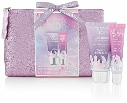 Parfumuri și produse cosmetice Set - Style & Grace Glitz & Glam Glitter Bag Gift Set (h/lot/50ml + lip gloss/10ml + bag)