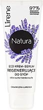 """Parfumuri și produse cosmetice Cremă pentru picioare """"Lavandă"""" - Lirene Natura Eco Organic Lavender"""