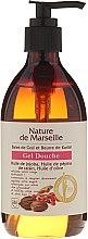 Parfumuri și produse cosmetice Gel de duș, cu miros de boabe de goji și unt de shea - Nature de Marseille Goji&Shea Butter Shower Gel