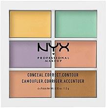 Parfumuri și produse cosmetice Paleta corector - NYX Professional Makeup Color Correcting Palette