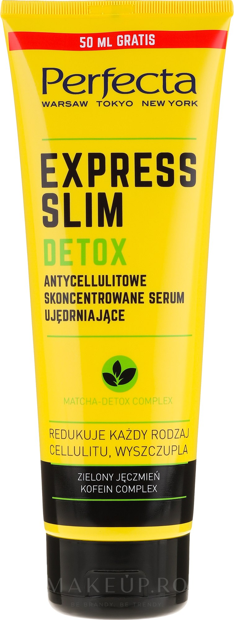 Ser anticelulitic pentru corp - Perfecta Express Slim Detox — Imagine 250 ml
