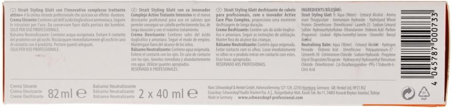 Set pentru îndreptarea părului - Schwarzkopf Professional Strait Styling Glatt kit 1 — Imagine N6