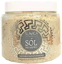 Parfumuri și produse cosmetice Sare de baie cu magneziu-potasiu - Slavica