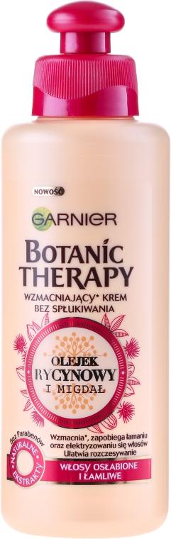 Ulei cremă pentru păr fragil cu de ulei de ricin și migdale - Garnier Botanic Therapy