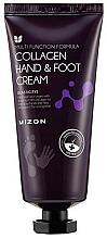Parfumuri și produse cosmetice Cremă cu colagen pentru mâini și picioare - Mizon Collagen Hand And Foot Cream